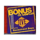 Cd backstreet Boys bonus Cd Sampler darlin[live In Frankfurt